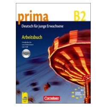 Prima B2 - Работна тетрадка със CD по немски език за напреднали