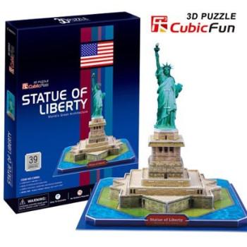 Statue of Liberty (USA) светещ 3D Пъзел