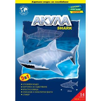 Акула - 3D Пъзел
