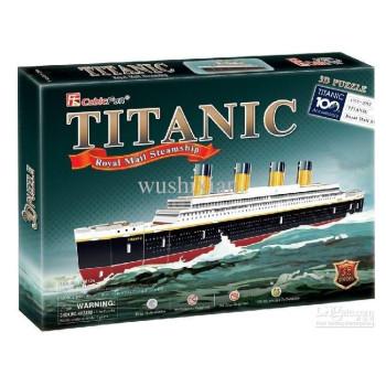 Titanik -  3D Пъзел
