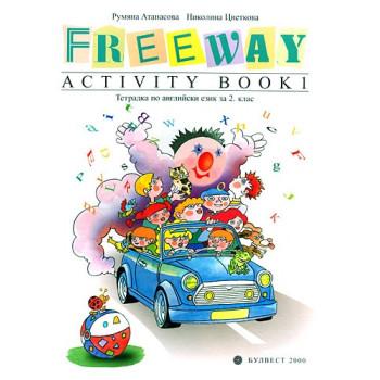 Freeway activity book: Тетрадка по английски език за 2. клас