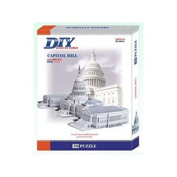 US Capitol Model 3D- Educational Puzzle
