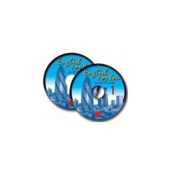 English for You 1: аудиозапис по английски език за 10. клас - 2 CD