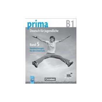 Prima 5 - книга за учителя по немски език за 8. клас - ниво B1