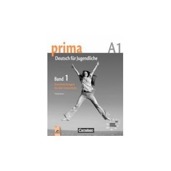 Prima 1 - книга за учителя по немски език за 8. клас - ниво А1