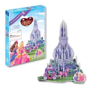 The Diamond Castle - 3D Пъзел