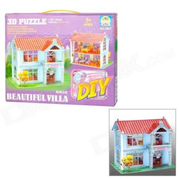 Beautiful Villa - 3D Пъзел