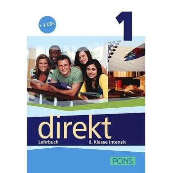 Direkt - ниво 1 (A1 - A2): Учебник за 8. клас + 3 CD Учебна система по немски език