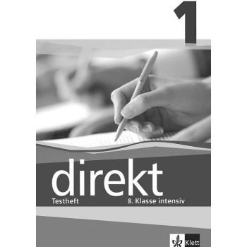 Direkt - ниво 1 (А1 - А2): Помагало с тестове за 8. клас Учебна система по немски език
