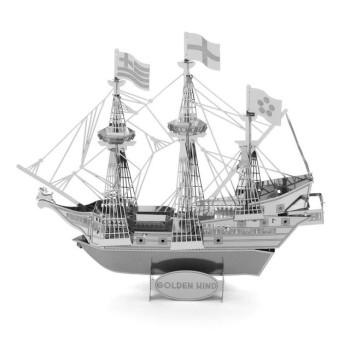 "3D нано пъзел, кораб ""Golden Hind"""