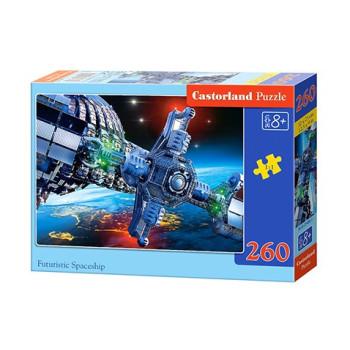 FUTURISTIC SPACESHIP 260 елемента