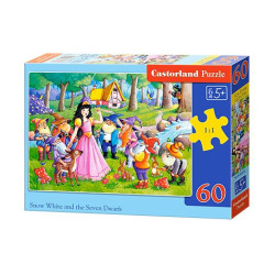 SNOW WHITE AND THE SEVEN DWARFS 60 елемента