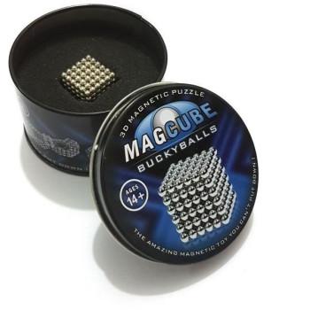 MAGCUBE магнитни топчета (цвят сив металик)
