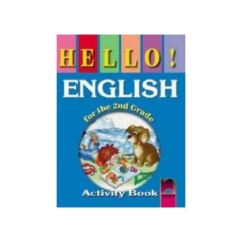 Hello! Работна тетрадка по английски език за 2. клас