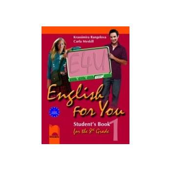 English for You 1: Учебник по английски език за 8. клас