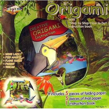 Оригами Птици