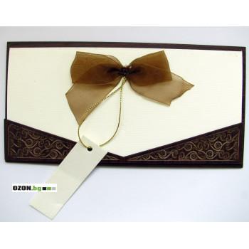 Луксозна дървена панделка - Панделка